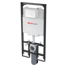 Скрытая система инсталляции для подвесного унитаза AlcaPlast Sadromodul Slim A1101B/1200 (глубина 84 мм)