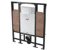 Скрытая система инсталляции для подвесного унитаза AlcaPlast Sadromodul A101/1300H (для монтажа поддерживающих поручней)