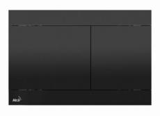 Кнопка управления AlcaPlast Flat FUN-BLACK (черная)