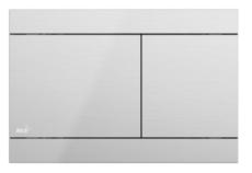 Кнопка управления AlcaPlast Flat FUN-INOX (нержавеющая сталь)