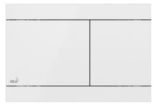 Кнопка управления AlcaPlast Flat FUN-WHITE (белая)