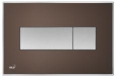 Кнопка управления AlcaPlast M1373 (коричневая матовая)