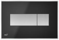 Кнопка управления AlcaPlast M1375 (черная матовая)