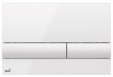 Кнопка управления AlcaPlast M1710 (белая)