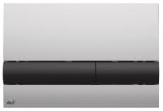 Кнопка управления AlcaPlast M1712-8 (хром матовый/черный)