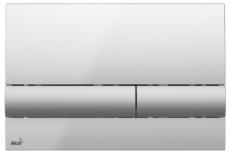 Кнопка управления AlcaPlast M1713 (хром глянцевый/хром матовый)