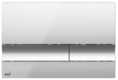 Кнопка управления AlcaPlast M1721 (хром глянцевый)