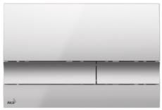 Кнопка управления AlcaPlast M1722 (хром матовый)