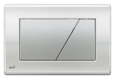 Кнопка управления AlcaPlast M173 (хром глянцевый/матовый)