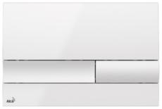 Кнопка управления AlcaPlast M1730 (белая)