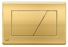 Кнопка управления AlcaPlast M175 (золотая)
