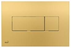 Кнопка управления AlcaPlast M375 (золотая)