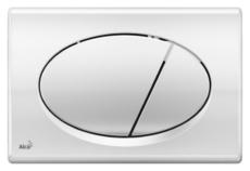 Кнопка управления AlcaPlast M71 (хром глянцевый)