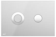 Кнопка управления AlcaPlast Flat TURN-INOX (нержавеющая сталь)