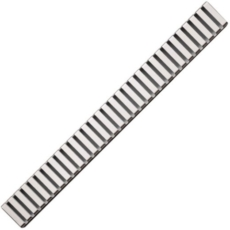 Водоотводящая решетка AlcaPlast LINE-1150L (1150 мм) глянцевая