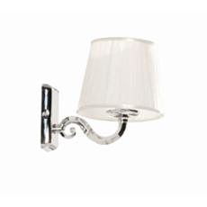 Светильник Акватон Венеция цвет хром, плафон белый 1AX016SVXX000