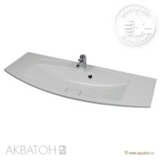 Раковина для мебели Акватон Милан М 1200 (1200х460 мм) белая 1A70663KML010