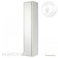 Шкаф-колонна подвесная Акватон Римини (350х1680 мм) белая 1A134603RN010