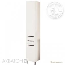 Шкаф-колонна на ножках Акватон Ария Н (340х2000 мм) белая 1A124303AA010