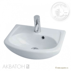Раковина для мебели Акватон Акванью 45 (460х385 мм) 1WH110150