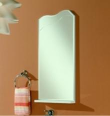 Зеркало Акватон Колибри 45 (360х806 мм) белое 1A065302KO01L