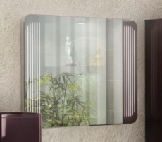 Зеркало Акватон Валенсия 110 (1100х710мм) белое 1A124602VA010
