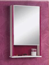 Зеркало Акватон Роко 50 левое (460х750 мм) белое 1A107002RO01L