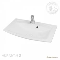 Раковина для мебели Акватон Милан М 800 (800х460 мм) белая 1A70643KML010