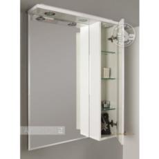 Шкаф-зеркало Акватон ЛИАНА 65 правый (650х850х145) белый 1A166202LL01R