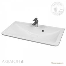 Раковина для мебели Акватон Сиена М 900 (900х440мм) белая 1A70623KSN010