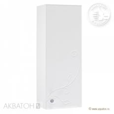 Шкаф одностворчатый Акватон ЛИАНА правый (300х819мм) белый 1A153103LL01R