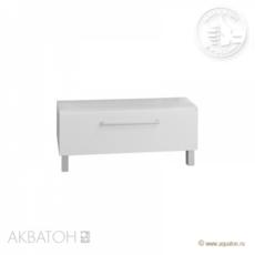 Комод с ящиком Акватон Мадрид 80 (796х250 мм) белый 1A131903MA010