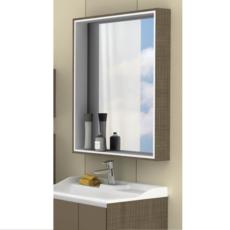 Зеркальный шкаф Акватон ФАБИА 80(800х849мм) корица 1A166902FBPF0
