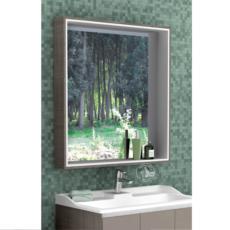 Зеркальный шкаф Акватон ФАБИА 80(800х849мм) латте 1A166902FBPH0