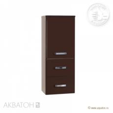 Полуколонна подвесная Акватон Америна (344х899 мм) темно-коричневый 1A137803AM430