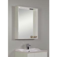 Зеркальный шкаф Акватон ФАБИА 80(800х849мм) белый / выбеленное дерево 1A166902FBAY0