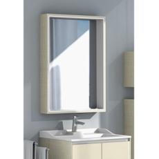 Зеркальный шкаф Акватон ФАБИА 65(650х849мм) ваниль 1A159702FBPD0
