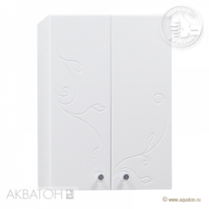 Шкаф двустворчатый Акватон ЛИАНА (601х819мм) белый 1A153003LL010