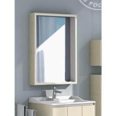 Зеркальный шкаф Акватон ФАБИА 80(800х849мм) ваниль 1A166902FBPD0