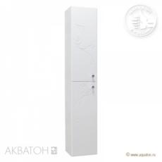 Шкаф-колонна подвесной Акватон ЛИАНА левый (300х1640мм) белый 1A163003LL01L