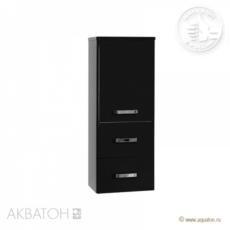 Полуколонна подвесная Акватон Америна (344х899 мм) черный 1A137803AM950