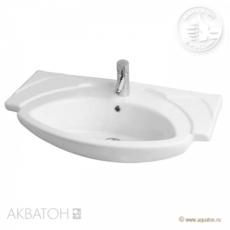 Раковина для мебели Акватон SEREL 80 KARDELEN M (800х510мм) белая 1AX038WBXX000