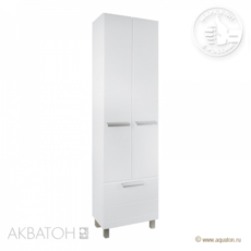 Шкаф-колонна Акватон АЛЬТАИР (504х1880мм) белый 1A041803AR010