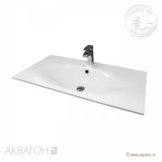 Раковина для мебели Акватон Тина 80 (800х450 мм) белая 1A710931TI010
