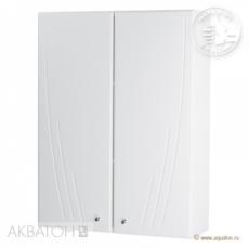 Шкаф двустворчатый Акватон Минима (610х818мм) белый 1A001703MN010