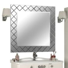 Зеркало Акватон Венеция 90 (876х876мм) зеркальная рама 1A155702VN010
