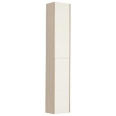 Шкаф-колонна Акватон ЙОРК  (300х1602) белый глянец/ясень фабрик 1A171203YOAV0