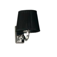 Светильник Акватон Венеция цвет хром, плафон черный 1AX015SVXX000