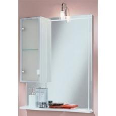 Зеркало со шкафом Акватон АЛЬТАИР 65 левое (620х816) белый 1A100002AR01L