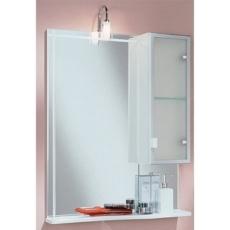 Зеркало со шкафом Акватон АЛЬТАИР 65 правое (620х816) белый 1A100002AR01R